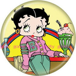 (Betty) Betty Boop betty boop can batch diner Parfait.