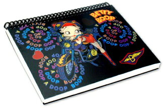 Betty (Betty ) Boop betty boop photo album Black bike handle cover photo of a cute 3D fresh 3D PhotoAlbum Betty Boop Moterbike black Album
