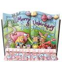 ディズニー ジム・ショアーMerry Unbirthday 御誕生日じゃない日おめでとう!Alice in Wonderland Story Book Figurine不思議の国のアリス帽子屋 三月ウサギ置物 フィギュア