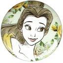 美女と野獣Beauty and the Beastベル BELLE イラストタッチ缶バッチloungefly ラウンジフライ