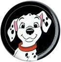 DISNEY 101匹わんちゃんOne Hundred and One Dalmatiansペニー フェイス柄缶バッチloungefly ラウンジフライサイズにご注意ください!