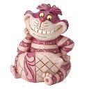 ディズニー ジム・ショアーMini Cheshire Cat FigurineAlice in Wonderland不思議の国のアリス チシャ猫フィギュア木彫り風 置物 フィギュア