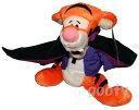 WDW 限定 1999年くまのプーさん ティガーWinnie the Pooh Tiggerビーンバッグ ドラキュラ 縫いぐるみレア 製造中止品ちょっと大きめ