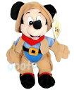 WDW ディズニーワールド内限定フロンティアランド Frontierland Mickeyミッキーマウス 縫いぐるみmickey mouse ビーンバッグアメリカより直輸入【楽ギフ_包装】