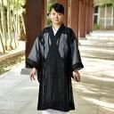 Kimono - 改良衣 女性用 黒紗 A切り返しなし(S-L)