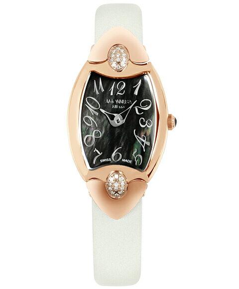 AMONNLISA アモンリザ レディース 腕時計 744D-GP-BKD WHベルト アモンリザ AMONNLISA レディース 腕時計 744D-BKD-WHRCP