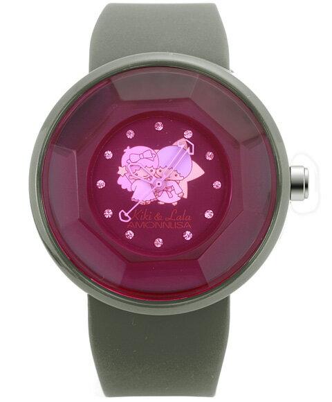 ワケありアウトレット キキララ グッズ アモンリザ ALTS1112PKBK レディース 腕時計 キキララ グッズ Kiki Lala AMONNLISA