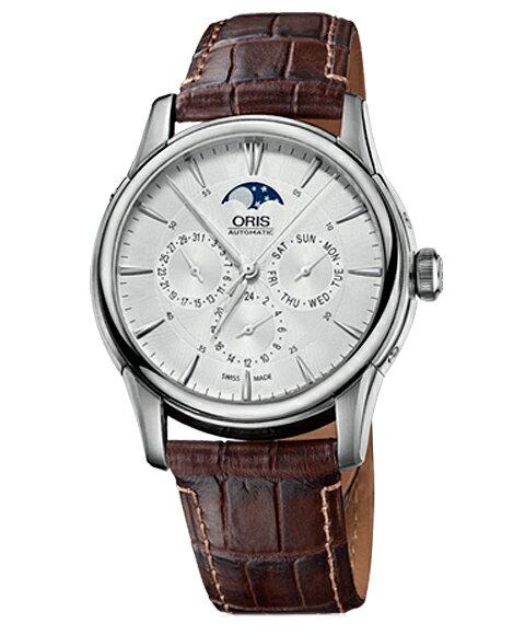 オリス アートリエ コンプリケーション 58276894051D メンズ 腕時計 自動巻き ORIS Artelier SALE!!!オリス ORIS アートリエ コンプリケーション メンズ 腕時計 582 7689 4051D Artelier