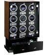 入荷予約販売(次回入荷予定3〜5か月後) ユーロパッション ウォッチワインディング ボックス アダプター付 FWD-17100EB ※時計は含まれておりませんEURO PASSION