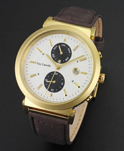 ギラロッシュ【Guy Laroche メンズ 腕時計 G2007-03】 ギラロッシュ Guy Laroche 腕時計