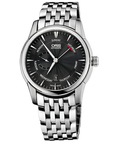 オリス アートリエ スモールセコンド ポインターデイ メンズ 腕時計 74576664054M Artelier Small S オリス ORIS 腕時計