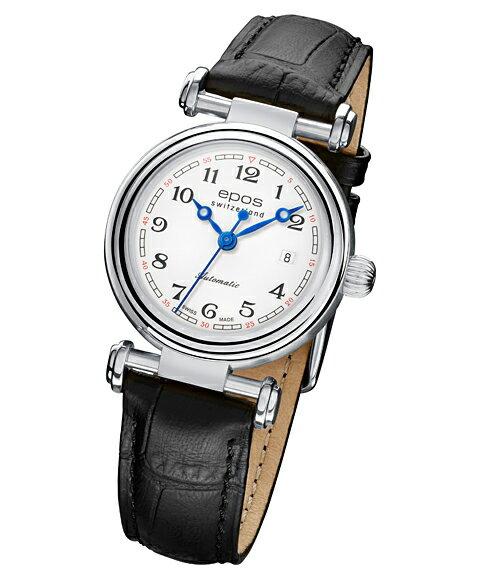 エポス オリジナーレ デイト レディース 4430WH 腕時計 自動巻 epos エポス エポス epos 腕時計