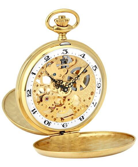 海外取寄せ(納期:約3〜4ヵ月後) エポス ポケットウォッチ 2078YGWHA メンズ 懐中時計 epos スケルトン ゴールド