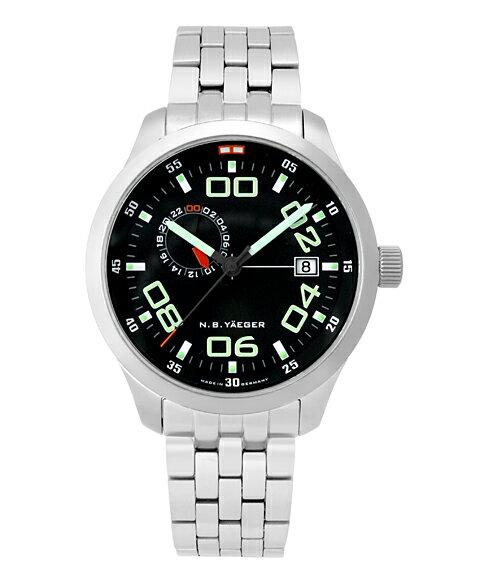 エヌ・ビー・イエガー リマ24H LIMA-M 自動巻 腕時計 メンズ N.B.YAEGER N.B.YAEGER NBイエガー 腕時計【明日は元の価格を復元します】