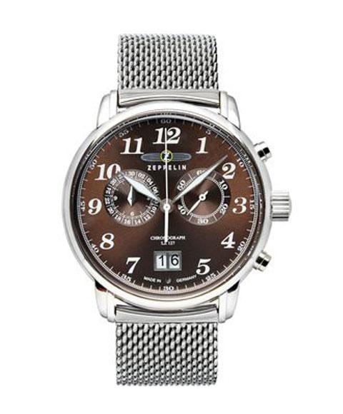 ツェッペリン 7684M-3 クロノグラフ 腕時計 メンズ ZEPPELIN ZEPPELIN