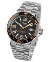 エポス スポーティブ ダイバー 3441ABKORM 腕時計 メンズ 自動巻 epos SPORTIVE DIVER メタルブレス ブラック系