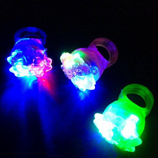 【光るおもちゃ/光り物玩具】☆★光るお花指輪36入★☆光る 指輪 光る指輪 光るおもちゃ …...:gosunwood:10000609