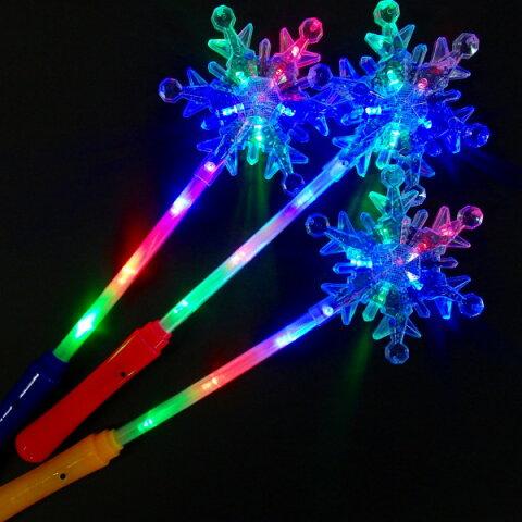 光るクリスタルスノースティック【ご注文単位は必ず6個単位でお願いします。】光るおもちゃ 縁日 お祭り 夏祭り おもちゃ 景品