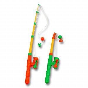 ひっかけ磁石クルクルつりざお【ご注文単位は必ず6個単位でお願いします】 釣り 魚 フィッシュ 釣り竿 おもちゃ リール