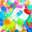 やわらか水族館100入【縁日すくい 縁日 すくい すくい用品 水 浮く お風呂 夏祭り お祭り 景品】