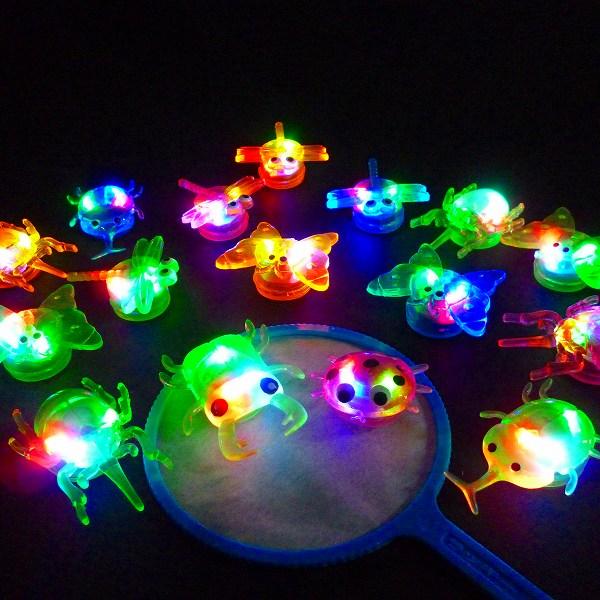 【光るすくい】ピカピカ森の生物48個入り【光るすくい 光る すくい 縁日 景品 縁日すくい…...:gosunwood:10000147