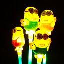 【光るおもちゃ】ミニオンズフラッシュスティック 12個入【光るおもちゃ 光り物玩具 光りもの 光る ...