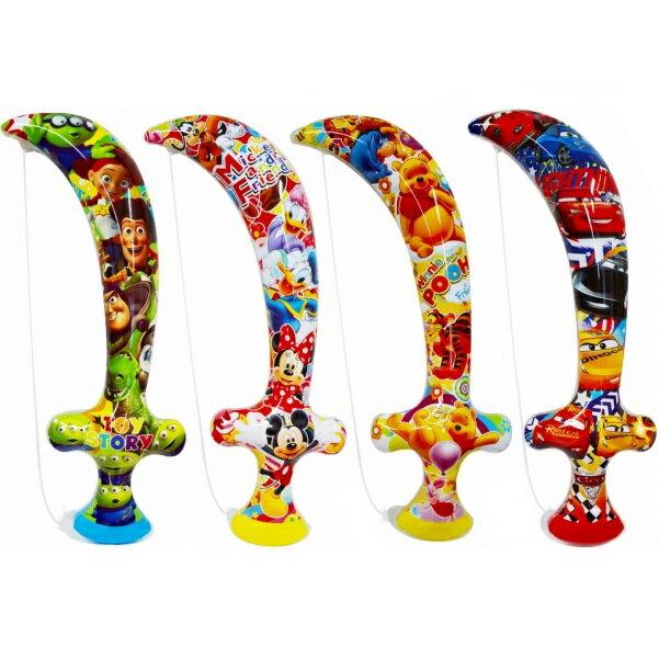 ディズニージャンボ海賊剣 4個入【ビニール玩具 空気ビニール おもちゃ 縁日 お祭り 夏祭り 景品 子供 子供会】