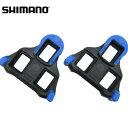 【在庫あり】【送料無料】SHIMANO(シマノ)SM-SH12 SPD-SL用クリートセット(青) 中間モード