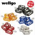 ショッピングフラット 【在庫あり】【送料無料】wellgo ウェルゴ C241 CNCアルミフラットペダル