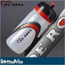 【在庫あり】DE ROSA(デローザ)268 WATER BOTTLE ELITE製デローザロゴ入りボトル 550ml