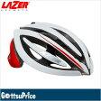 【在庫あり】【送料無料】LAZER(レーザー)ジェネシス レッド/ホワイト 自転車ヘルメット