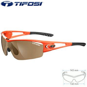 【在庫あり】TIFOSI(ティフォージ) LOGIC ロジック (インターチェンジブル) M-Lサイズ サングラス ネオンオレンジ(TF3-LG1NO2)
