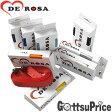 【在庫あり】デローザ(DE ROSA)バーテープ ワンポイントロゴ 265