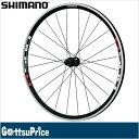 【送料無料】SHIMANO(シマノ)WH-R501 リア用ホイール(ブラック) EWHR501RCBY