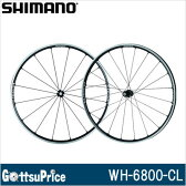 【在庫あり】【送料無料】SHIMANO(シマノ)WH-6800 F/R CL チューブレス/クリンチャー対応 11S アルテグラホイール EWH6800FRCA【自転車 シマノ アルテグラ 6800 ホイール】