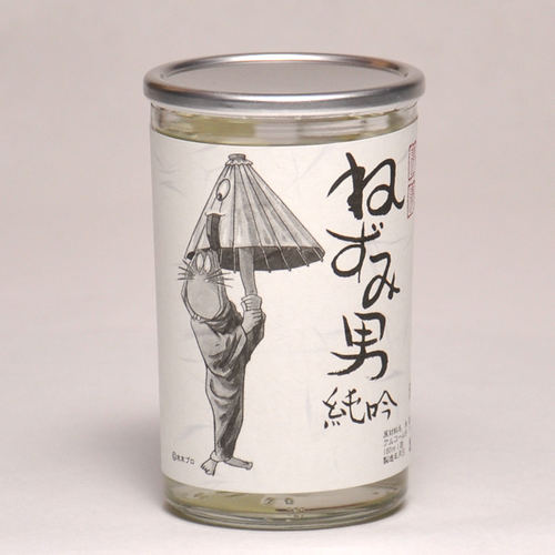 千代むすび ねずみ男純吟 ワンカップ 180ml 日本酒 鳥取 地酒