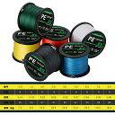 PEライン 釣りライン 8編 釣り糸 500m 高感度 耐磨耗 低伸度 各色 0.8号 16LB 〜8.0号 80LB 各種 釣り 釣り道具 フィッシング 釣り具 ライン 釣りライン 釣具