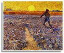 ゴッホ・「ゴッホの種蒔く人」プリキャンバス複製画・ギャラリーラップ仕上げ(F8サイズ)
