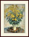 モネ・「Jerusalem Artichoke Flowers」