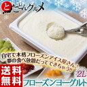 ≪送料無料≫たっぷり大容量!! 「フローズンヨーグルト 2L」 ※冷凍【同梱不可】