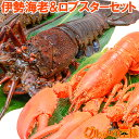 【送料無料】伊勢海老 & ロブスターセット 国産伊勢海老23...