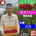 ラズベリー 冷凍 バラ 送料無料 (1kgパック)無農薬栽培...