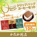 ドリップコーヒー コーヒー 100袋 Qグレード珈琲豆使用ドリップバッグコーヒーセット