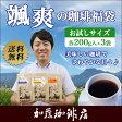颯爽の珈琲福袋(R)(Qホン・Qコロ・ラデュ/各200)/1000円ポッキリ 珈琲豆