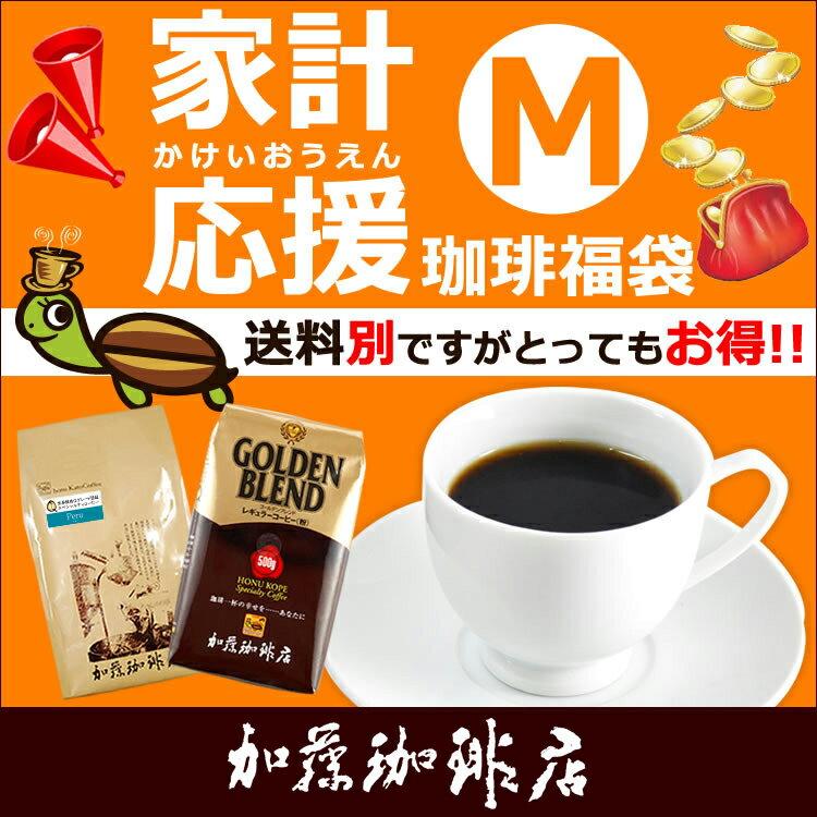 家計応援珈琲福袋【M】(ラデュ・ウィラEX/各500g)/珈琲豆