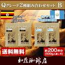 Qグレード2種組み合わせセットB(Qエル×2・Qメキ×2)/珈琲豆