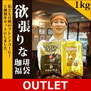 【訳あり大処分】[1kg]欲張りな珈琲福袋[G500・しゃち...
