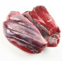 【えぞ鹿(蝦夷鹿)スネ肉】(冷凍・不定貫/1kgあたり2100円)【05P03Sep16】