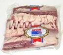 【ラム フレンチラックNZ産/液体凍結(整形済・2枚入)】(冷凍・不定貫/1kgあたり51