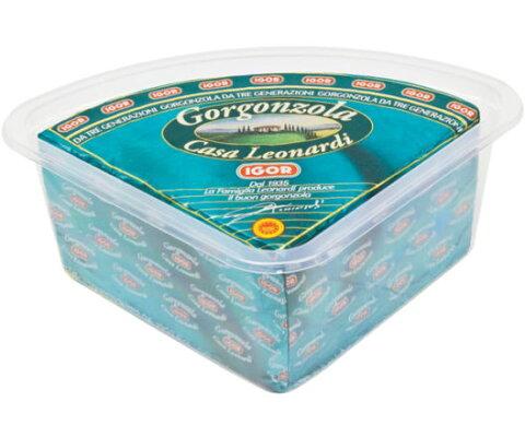 イゴール ゴルゴンゾーラドルチェ カット約1.5kg(冷蔵)/チーズ/青カビタイプ/表示価格は1kg当たりです。1本あたりおよそ5100円ですが目方売り商品ですのでお支払い価格が変わります。